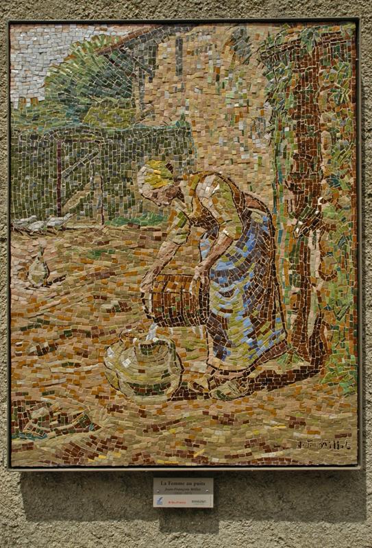 •Millet-femme au puit