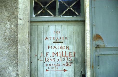 •Porte -Maison Millet- 17