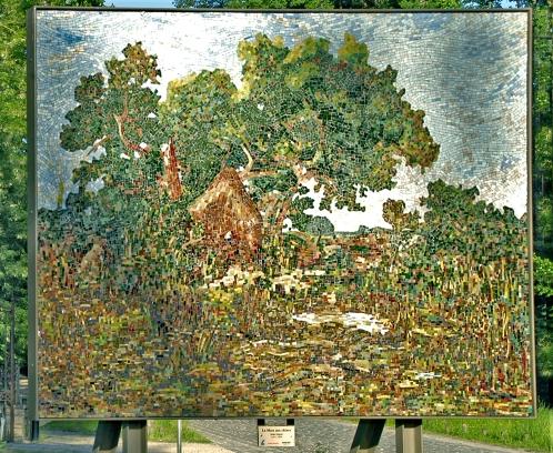 •Theodore Rousseau-La cabane des charbonniers115N