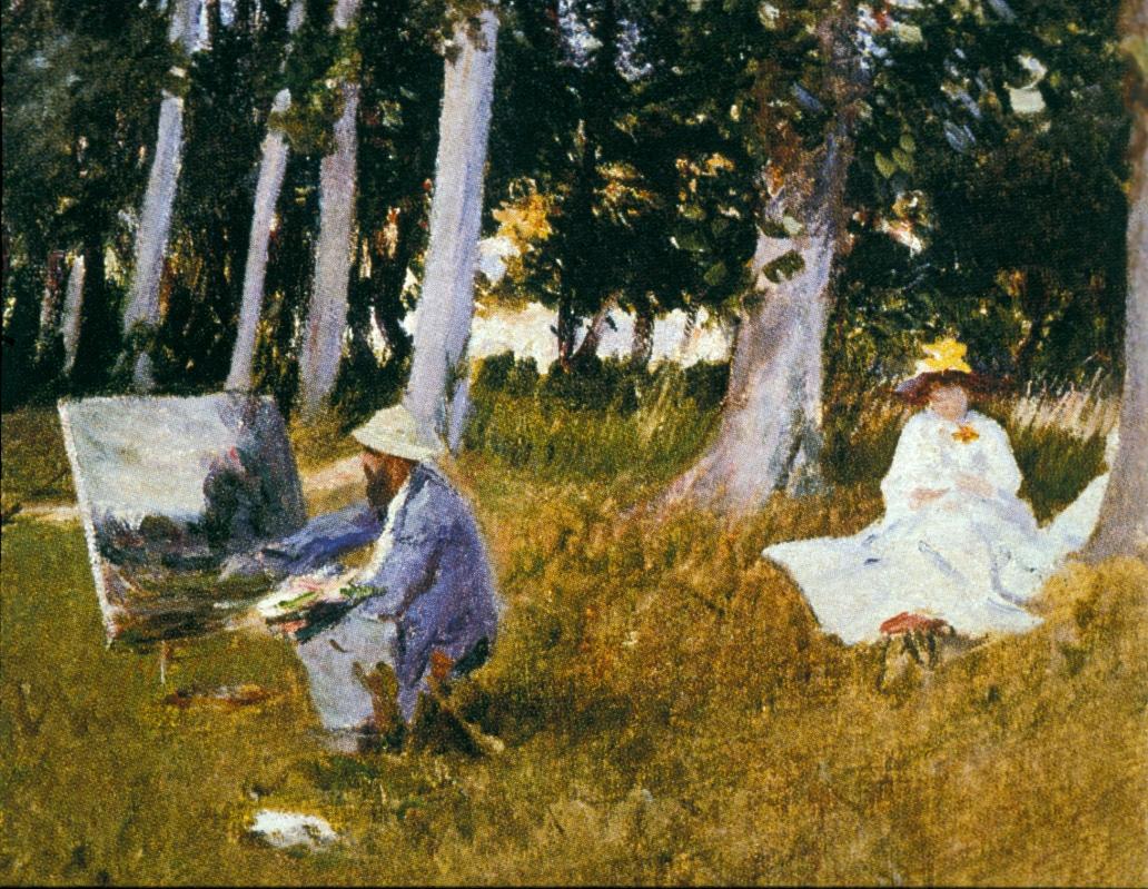 Monet peignant-6