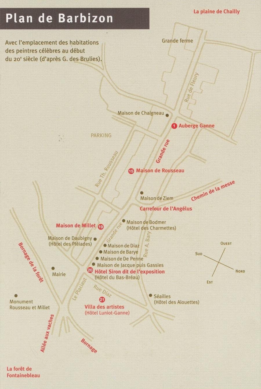 Plan Habitations des peintres