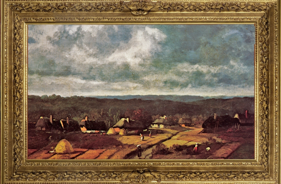 Narcisse Diaz de la Peña - Le village de Barbizon