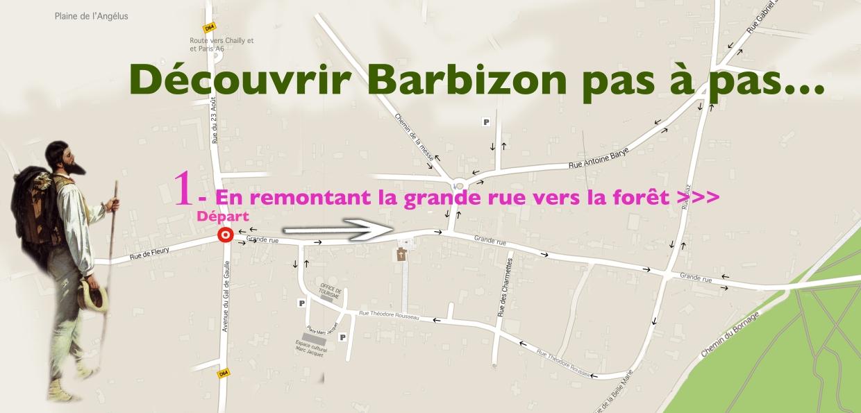 Barbizon PAS à PAS-départ