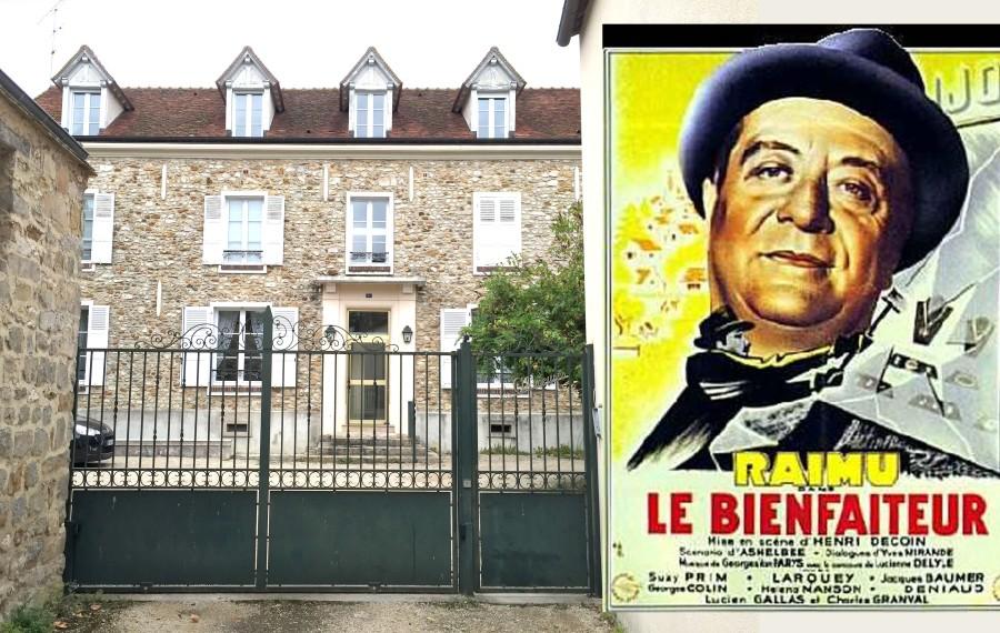 Le film de Henri Decoin tourné en 1942, dans l'immeuble