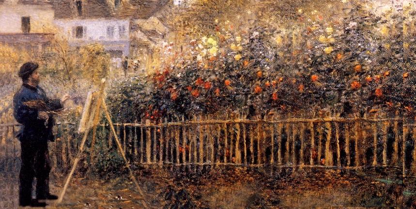 Monet peignant P G3