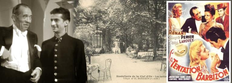 En 1946, c'est François Périer et Daniel Gélin qui s'installent à la Clé d'Or pour tourner
