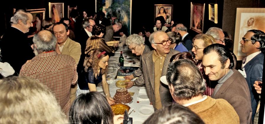 En 1980, vernissage dans la légendaire Galerie Triade de Suzanne Tarasieve, aujourd'hui installée à New York…Barbizon allait de nouveau conquérir l'Amérique…