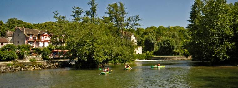 Canoé à Montigny-sur-Loing 1539