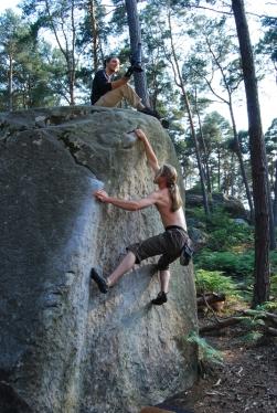 •Fontainebleau Grimpeurs 206