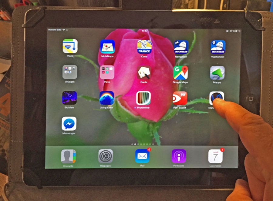 iPad iTranslate Voice1 mini